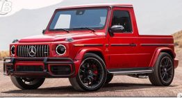 Mercedes G-Class Pick-up as a successor for Mercedes X-Class?
