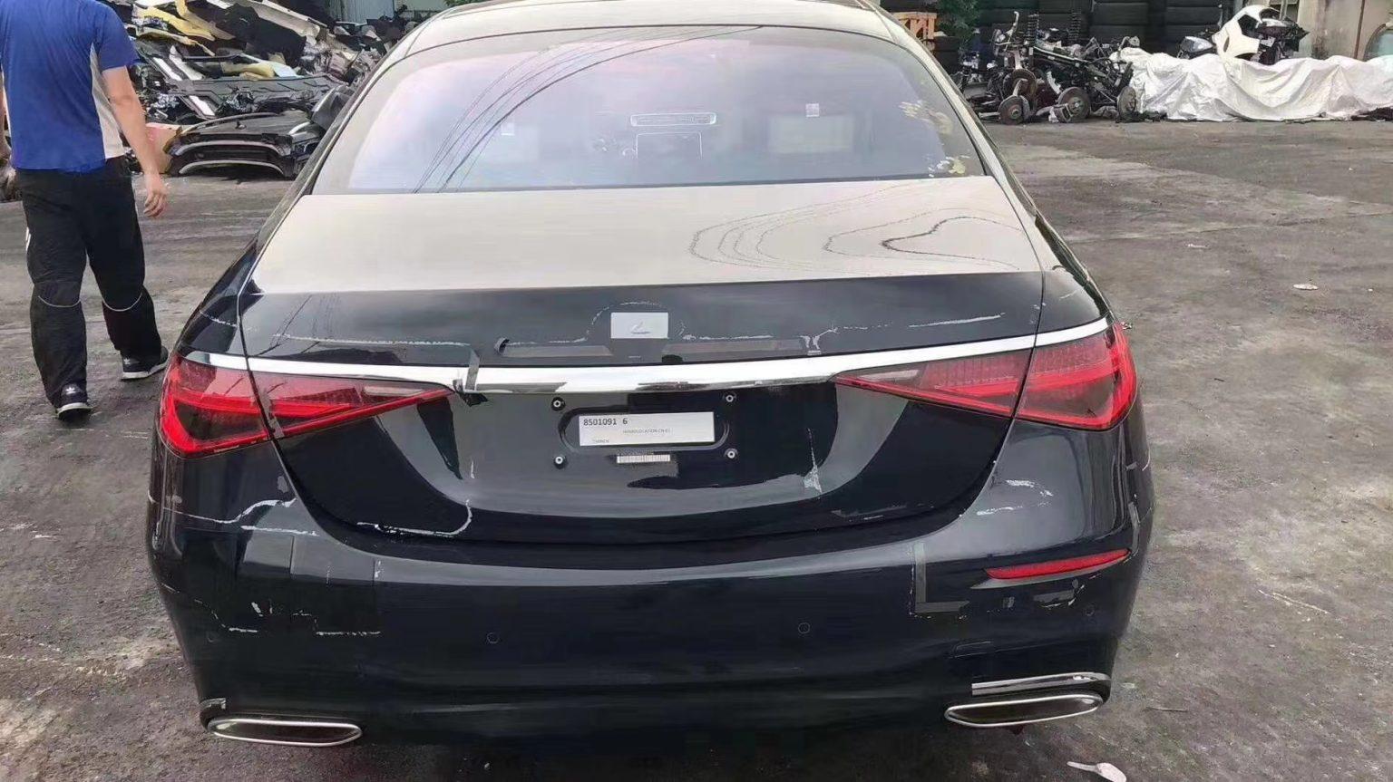 Mercedes S-Class leak 2020