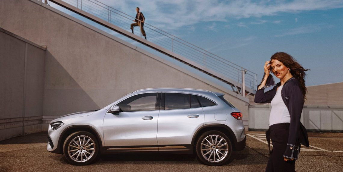 The Mercedes-Benz GLA campaign begins – Designed for the wilderness. Enjoyed in the city
