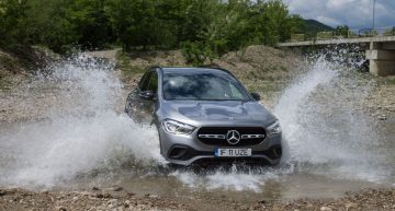 First test drive of the Mercedes-Benz GLA 200 d 4Matic: a genuine SUV