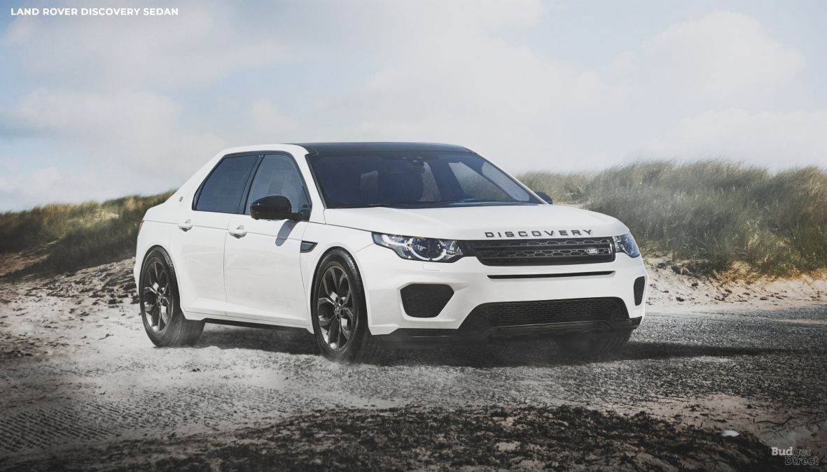 Land Rover Discovery reimagined as a sedan