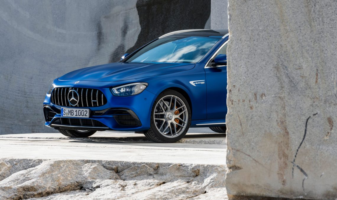 Mercedes-AMG E 63 4MATIC+ Sedan and Estate – Official photos and data