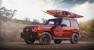 "Mercedes-AMG G 63 ""Long Nose"" – Who turned the G-Wagen into a yacht?"