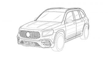 Patent drawings of the Mercedes-AMG GLB 45 have escaped the internet