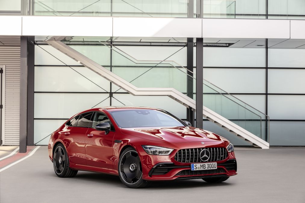 Mercedes-AMG GT4-door coupe updated with MBUX multimedia system