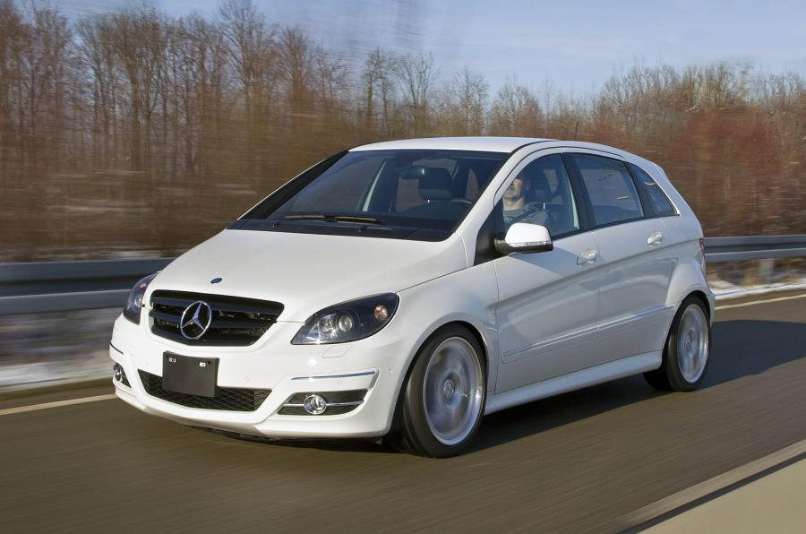 Mercedes B 55 AMG: The most powerful Mercedes B-Class ever