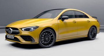 New aero pack makes the Mercedes-AMG CLA 35 and CLA 45 more exciting