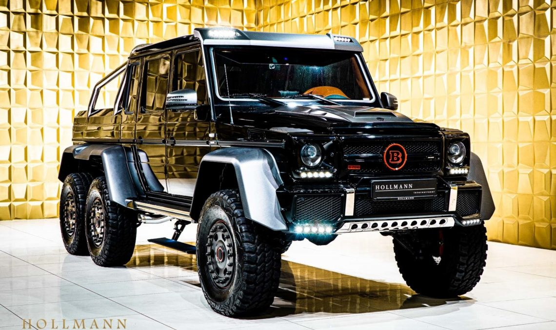 Monster for sale. How much does a Mercedes-Benz G63 AMG 6×6 get to cost nowadays?