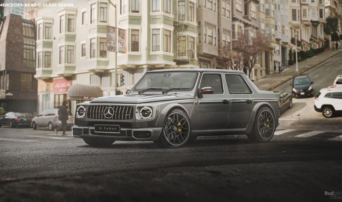 Honey, I shrunk the G-Class: Mercedes G-Class sedan