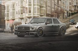 Honey, I shrunk the G-Class: Mercedes G-Class sedan