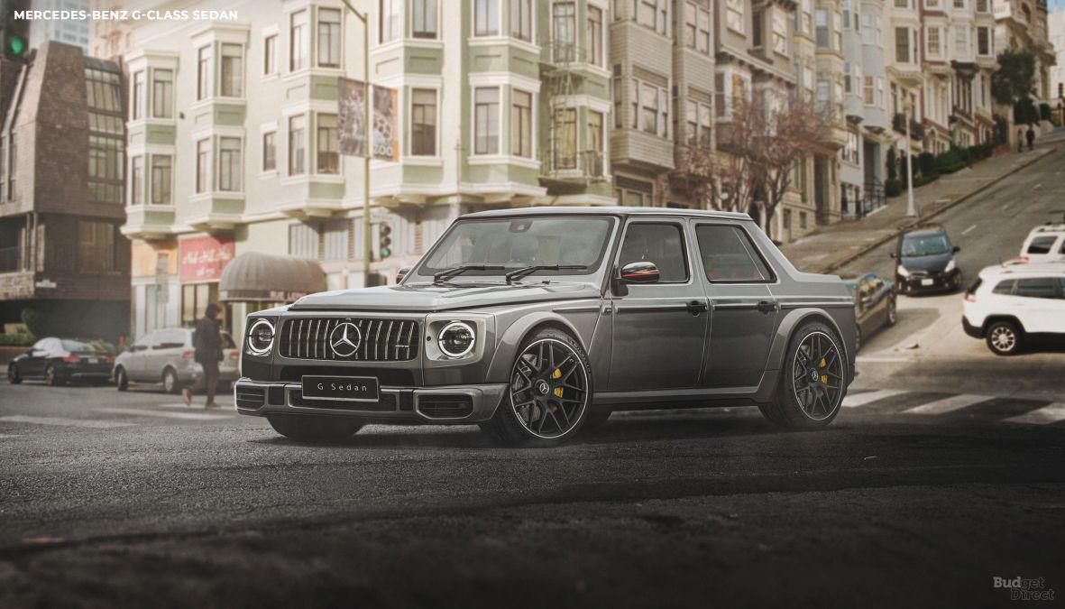 Mercedes G-Class reimagined as a sedan