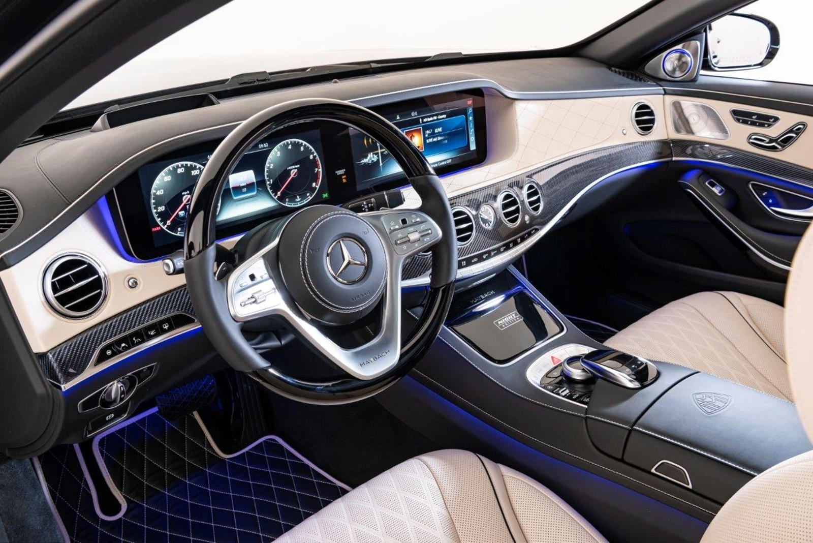 Mercedes Maybach S650 Night Edition Scares Off Any Rolls Royce