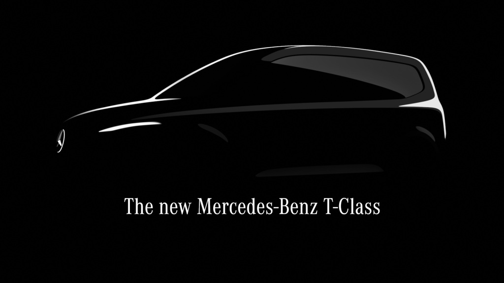 Mercedes Citan's successor: commercial version Citan and Mercedes T-Class for passengers