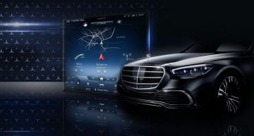 First glance at the future Mercedes-Benz S-Class MBUX infotainment display