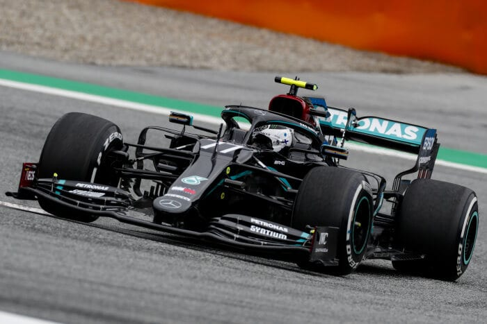 Mercedes-AMG Petronas locks first grid row for the Austrian Grand Prix