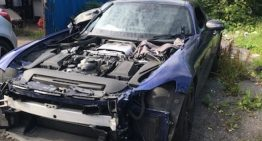 Driver returning from holiday found his Mercedes-AMG GT dismantled