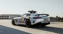 The Formula 1 Safety Car sports new look to support diversity