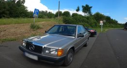 How fast can a 1988 Mercedes-Benz 190D W201 go on the autobahn?