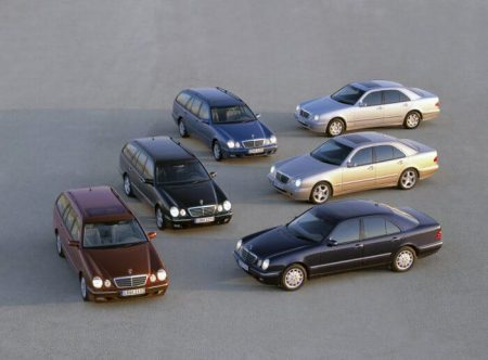 Mercedes-Benz E-Class in the 210 model series (9)