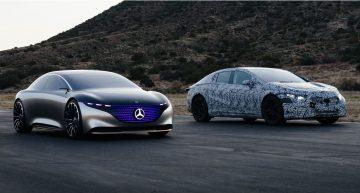Official: Mercedes EQS promises a 700-kilometer WLTP range