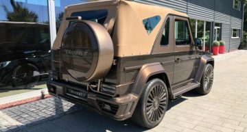 "Mercedes-Benz G500 Cabrio ""Speranza"" by Mansory – Something must have gone terribly wrong"