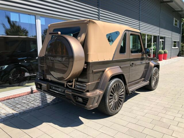 """Mercedes-Benz G500 Cabrio """"Speranza"""" by Mansory – Something must have gone terribly wrong"""