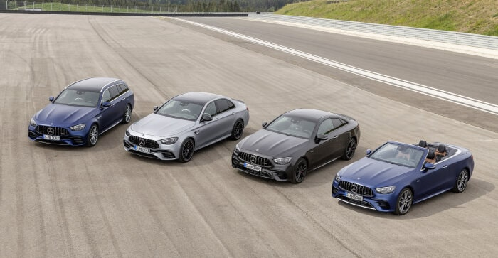 Performance has a price, literally. The new Mercedes-AMG E-Class models are available for order
