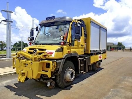 What will four Mercedes-Benz Unimog trucks do in Mauritius (1)