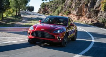 Six new versions of the Aston Martin DBX with Mercedes technology