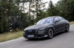 The Mercedes-AMG S 63 e will be the top model of the new S-Class W223 range