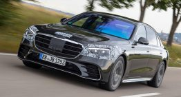 First ride 2020 Mercedes S-Class prototype by Autocar