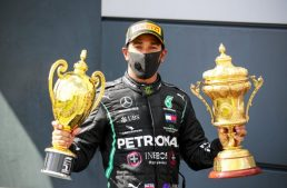 How Lewis Hamilton won at Silverstone with a flat tire
