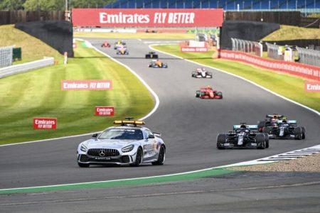 Lewis Hamilton flat tire Silverstone (5)