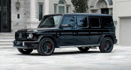 Inkas builds the armored limousine Mercedes-AMG G63
