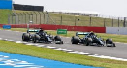 Mercedes-AMG Petronas settles for 2nd and 3rd in anniversary race in Silverstone