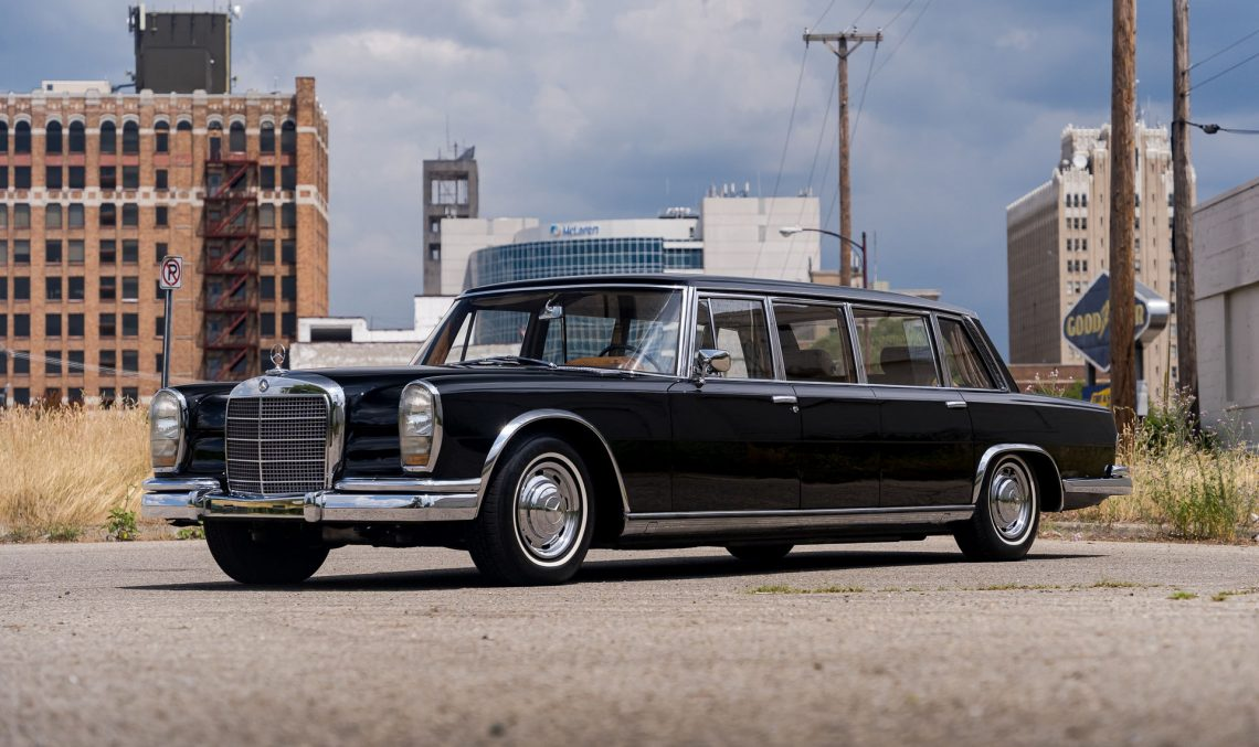 Mercedes-Benz 600 Pullman, that once belonged to the Chinese Foreign Minister, now for sale in the U.S.