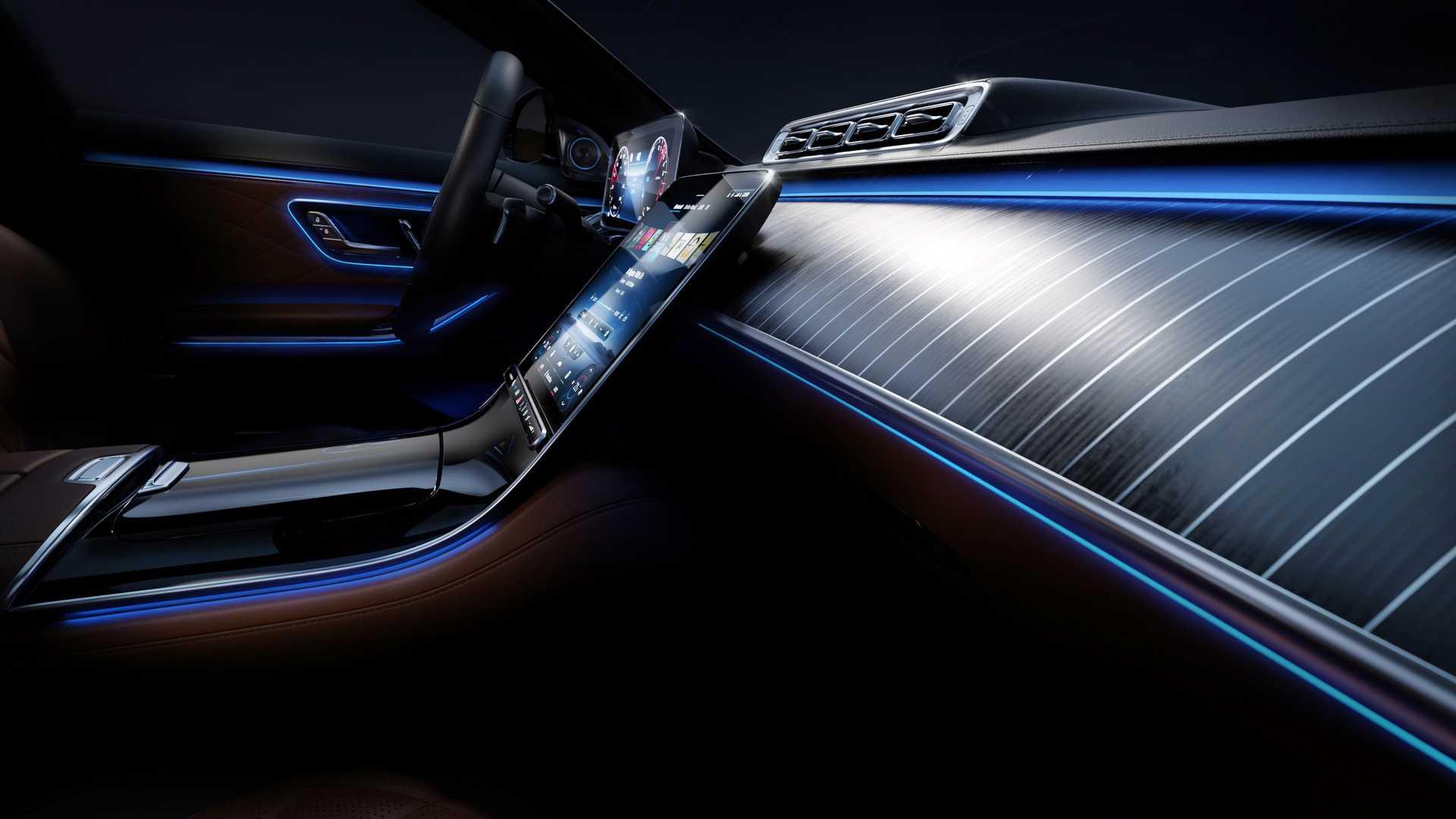 Mercedes-Benz S-Class interior (1)