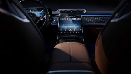 Mercedes-Benz S-Class interior (7)