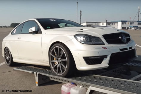 Mercedes C 63 AMG Coupe with 1,200 HP by GAD Motors