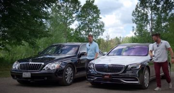 A 2007 Maybach 57S and a 2020 Mercedes-Maybach S560 are face to face. Which one is better?