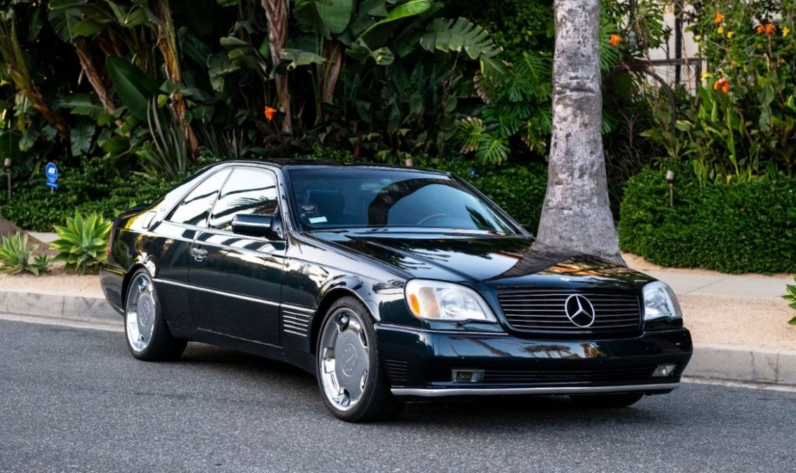Michael Jordan's Mercedes-Benz S600 is for sale. Auction starts at only $23!