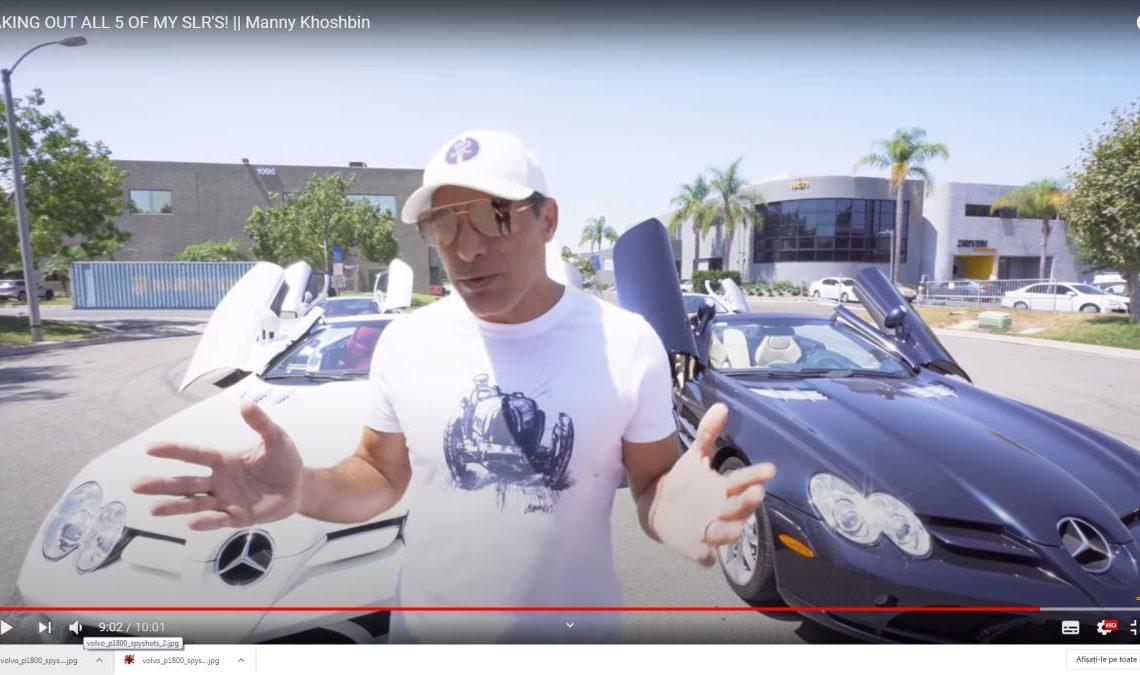 Real estate mogul Manny Khoshbin took all 5 Mercedes SLR McLaren for a ride