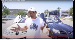 Real estate mogul Manny Khoshbin took all 5 Mercedes SLR McLaren for a ride