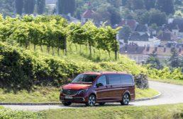 The new Mercedes EQV: up to 418 km range