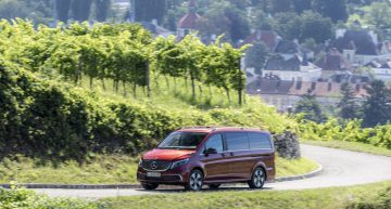 The new Mercedes EQV: up to 418 km range