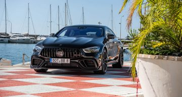 Brabus 800 Mercedes-AMG GT 63 S 4-Door Coupe is the ultimate family supercar