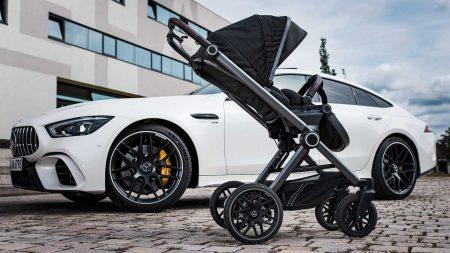 Mercedes-AMG Baby stroller (9)