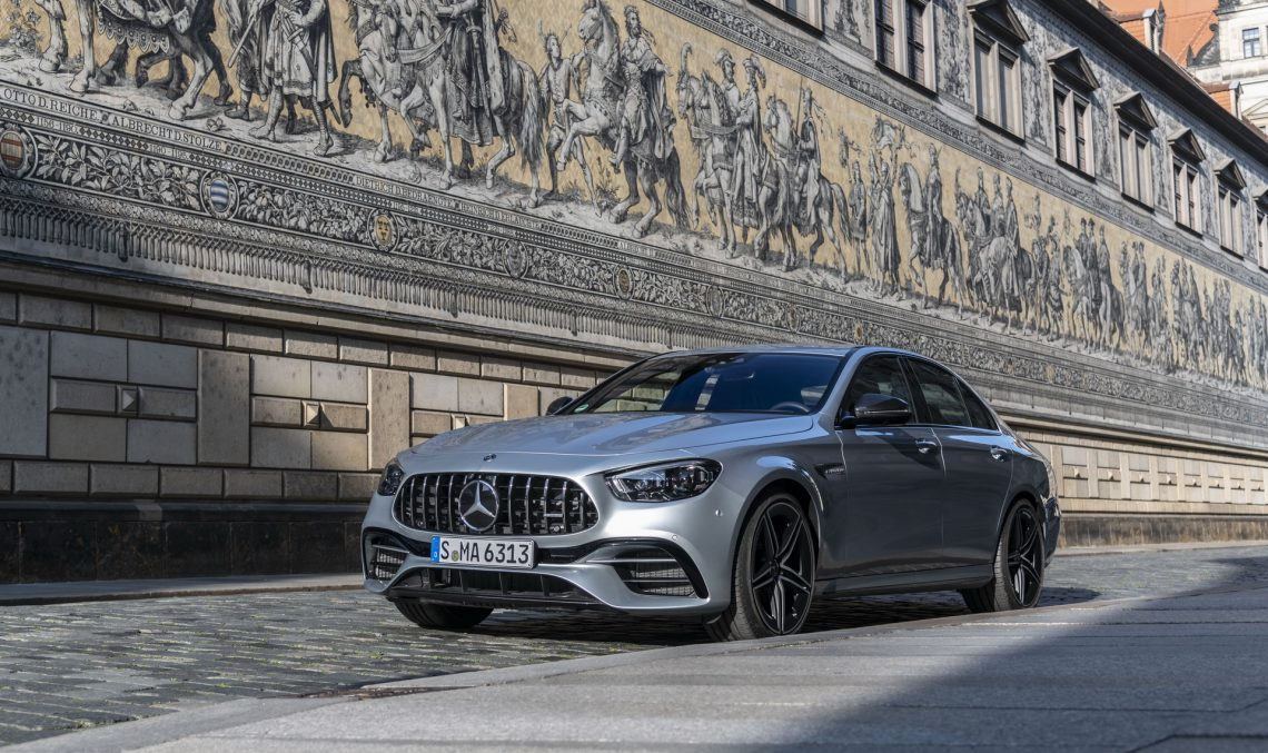 Here are the new Mercedes-AMG E 53 and E 63 models