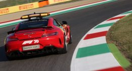 Mercedes-AMG pays tribute to Ferrari – This the first ever red Formula One Safety
