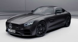 Mercedes-AMG GT Stealth Edition hit the U.S. showrooms soon